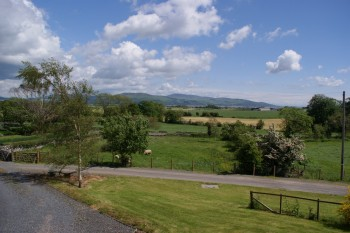 View from Galloway Cottage Glenturk Wigtown Scotland