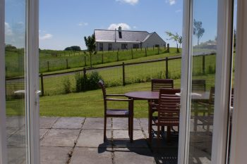 Photo of View from sitting room at Galloway Cottage Sitting Room